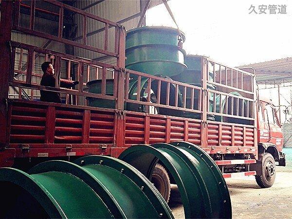 柔性防水套管生产现场