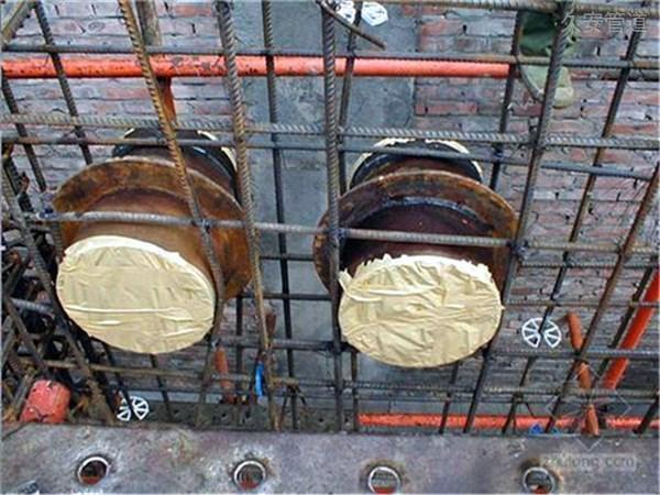 刚性防水套管安装应用现场