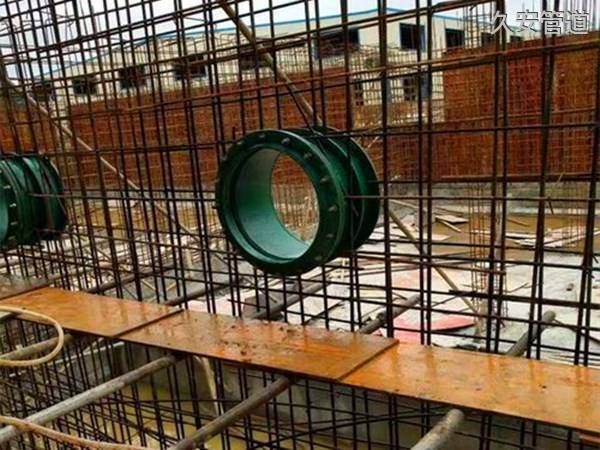 柔性防水套管安装现场